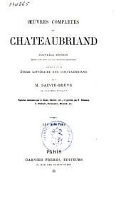 Œuvres complètes de Chateaubriand: Volume4