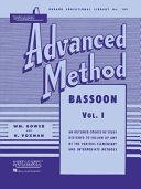 Rubank Advanced Method - Bassoon
