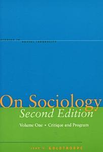 On Sociology PDF