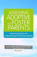 Assessing Adoptive and Foster Parents PDF