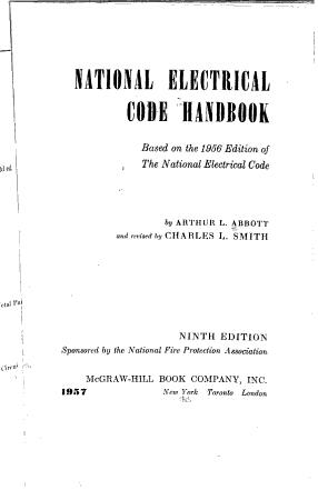 National Electrical Code Handbook PDF