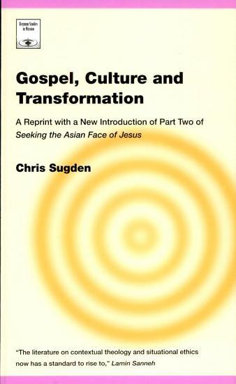 Gospel  Culture  and Transformation PDF