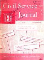 Civil Service Journal