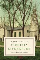 A History of Virginia Literature PDF
