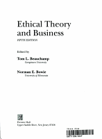 Ethical Theory in Business PDF