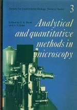 Society for Experimental Biology, Seminar Series: Volume 3, Analytical and Quantitative Methods in Microscopy