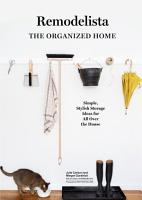 Remodelista  The Organized Home PDF