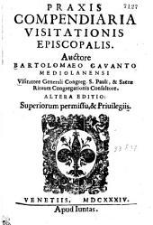 PRAXIS COMPENDIARIA VISITATIONIS EPISCOPALIS