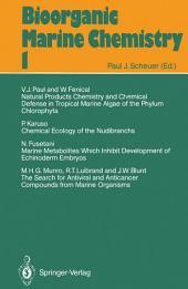 Bioorganic Marine Chemistry: Volume 1