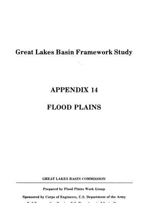 Great Lakes Basin Framework Study   report    Appendix