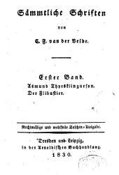 Sämmtliche Schriften von van der Velde, Karl Franz: Band 1