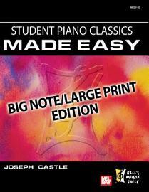 Student Piano Classics Made Easy