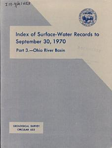 Geological Survey Circular Book