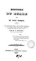 Histoire du B  arn et du pays basque PDF