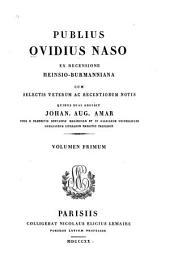 Publius Ovidius Naso: Volume 1