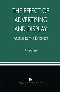 The Effect of Advertising and Display Book