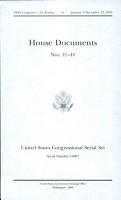 United States Congressional Serial Set Serial No 14967 House Documents No 41 44