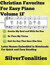 Christian Favorites for Easy Piano Volume 1 F
