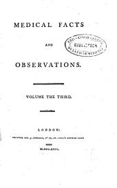 Medical Facts and Observations: Volume 3