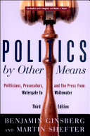 Politics by Other Means