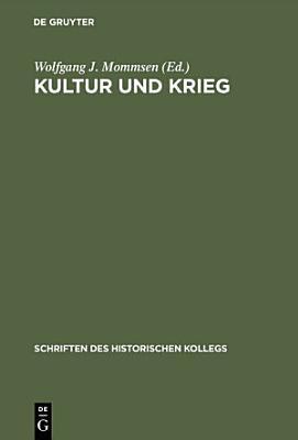 Kultur und Krieg PDF