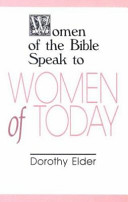 Women of the Bible Speak to Women of Today