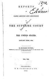 United States Reports: Cases Adjudged in the Supreme Court, Volume 33