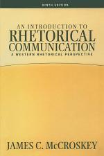 An Introduction to Rhetorical Communication