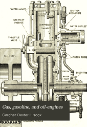 Gas, Gasoline, and Oil-engines: Including Producer-gas Plants, Describing and Illustrating the Theory, Design, Construction, and Management of the Explosive Motor for Stationary, Marine, and Vehicle Motor Power