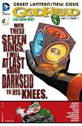 Green Lantern/New Gods: Godhead (2014-) #1