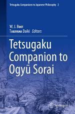 Tetsugaku Companion to Ogyu Sorai