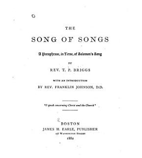 The Song of Songs Book