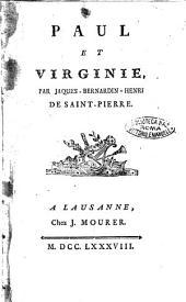 Paul et Virginie, par Jacques-Bernardin-Henri de Saint-Pierre