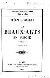 Les beaux-arts en Europe - 1855 -