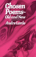 Chosen Poems  Old and New Book