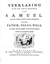 Verklaring van de twee boeken van Samuël
