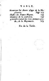 Le Secret des Francs-Maçons [par l'abbé Perau]