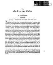 Über die Vase des Midias