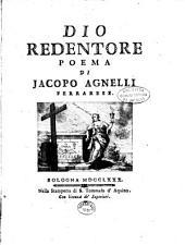 Dio redentore: poema