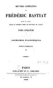 Oeuvres complètes: Mises en ordre, revues et annotées d'après les manuscrits de l'auteur, Volume5