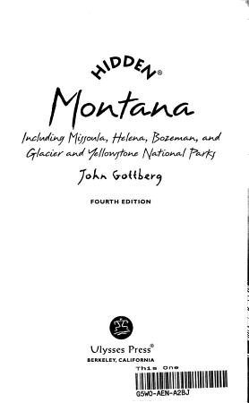 Hidden Montana PDF