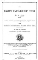 The English Catalogue of Books for    PDF