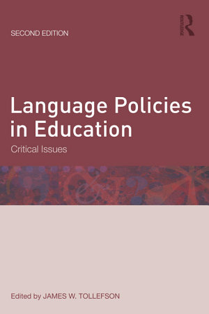 Language Policies in Education PDF