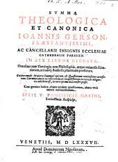Summa theologica et canonica