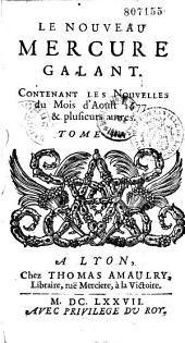 Mercure galant, dédié à Monseigneur le Dauphin