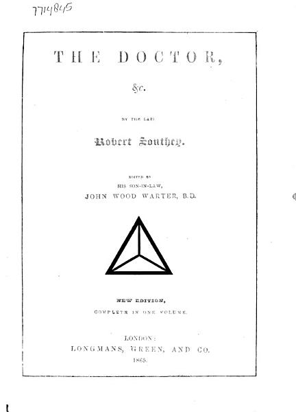 The Doctor  Etc