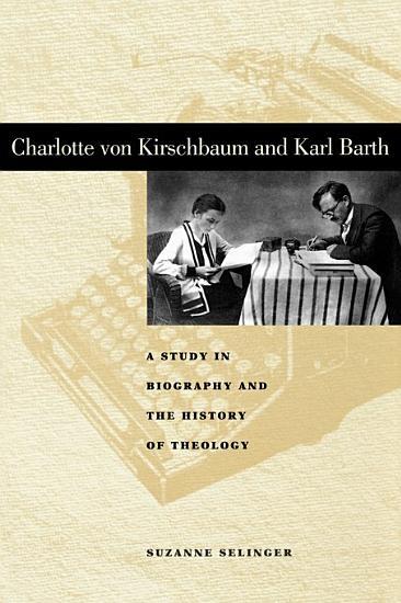 Charlotte Von Kirschbaum and Karl Barth PDF