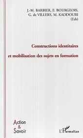 Constructions identitaires et mobilisation des sujets en formation