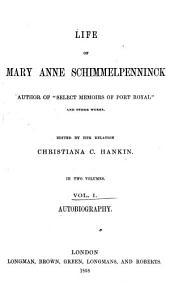 Life of Mary Anne Schimmelpenninck ...