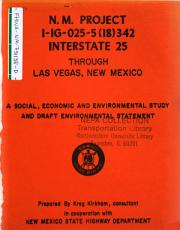 I 25  Las Vegas Bypass New Contruction PDF